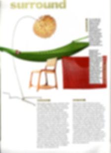 Stylis silk cocoon floor light by Ango feature in Urbis magazine