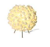 Small Silk cocoon table light
