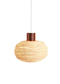 Unique rattan ceiling light