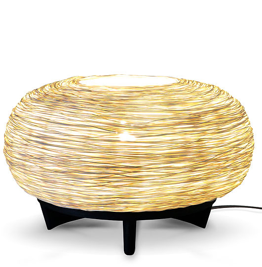 Rattan Table light