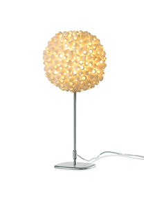 Good Design table light silk cocoon