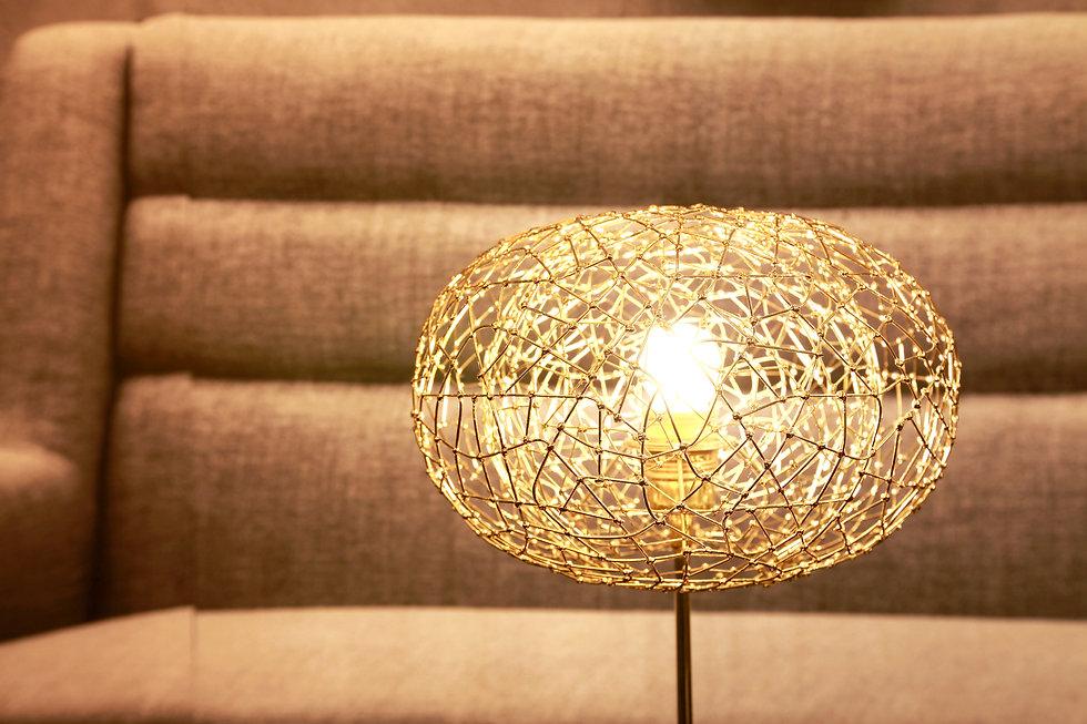 luxury table light, Halo created by Ango
