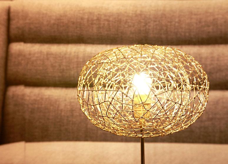 Table light in jewellery look