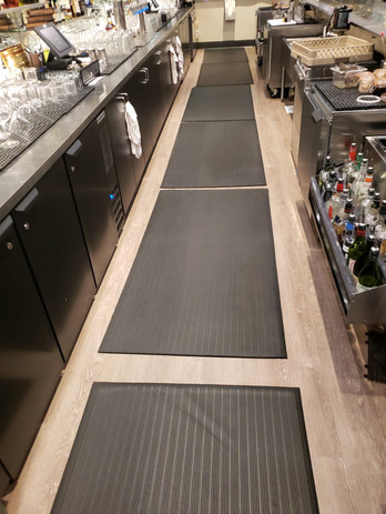 Bar and Mat Cleaning