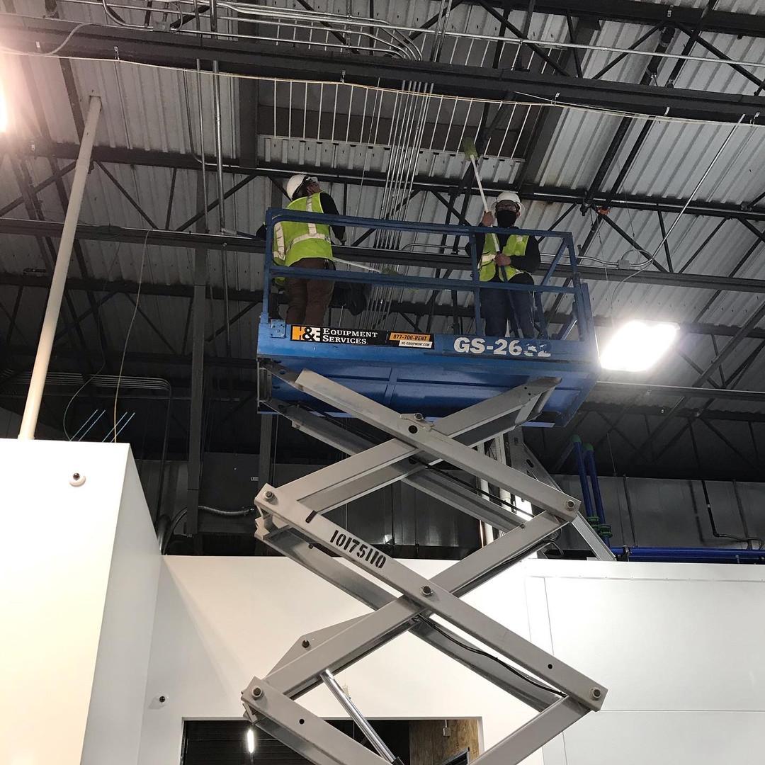 High Ceiling Dusting