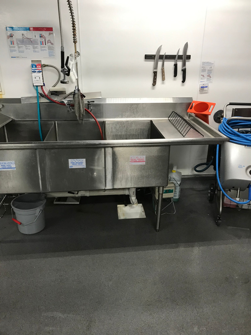 Deep Cleaning Meat Room
