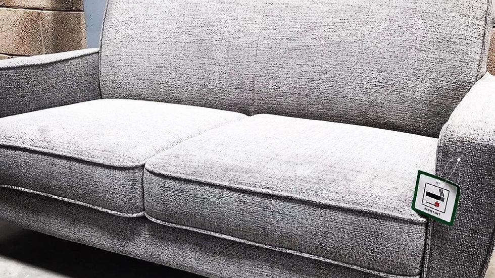 HOME SENSE 2 Seater Grey Sofa