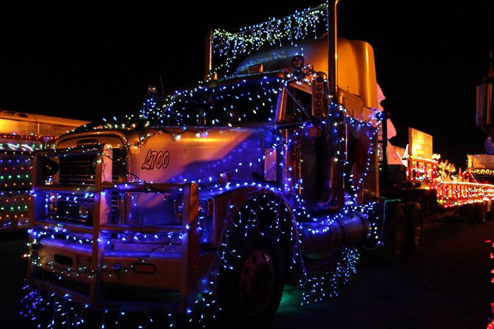 Parade of Lights 2015 Autism Ontario float
