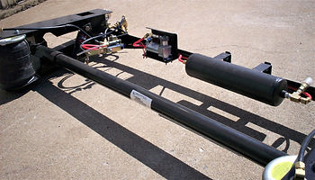 Single Axle Trailer Flex Air Ride Suspension