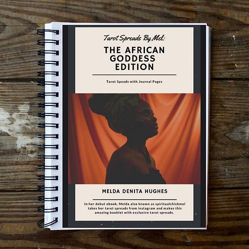Tarot Spread Ebook African Goddess Edition