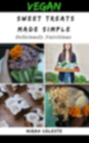 My vegan sweet treats recipe ebook cover