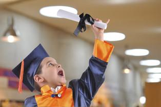 Ceremonia de graduación de preescolar