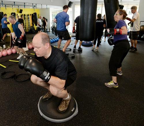 Rock steady boxing vancouver parkinson's disease