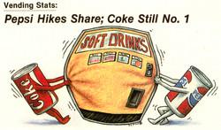 Coke Vs. Pepsi Vending Wars