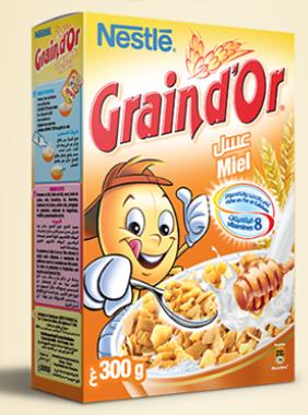 Grain d'or miel