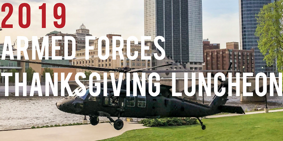 2019 ARMED FORCES THANKSGIVING LUNCHEON