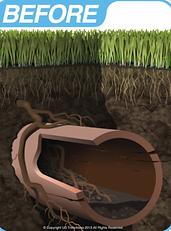 pipe repair services, trenchless pipe repair