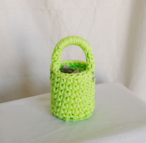 Baby Bucket in Chartreuse