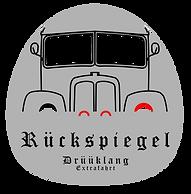 Drüüklang Logo Front_EF_Rückspiegel_mDK_