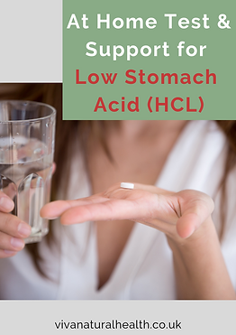 At Home Test & Treatment for Low Stomach