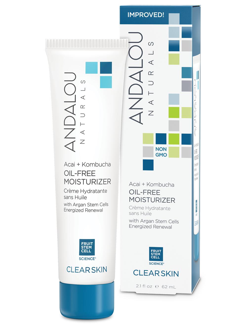 andalou naturals oil free moisturiser