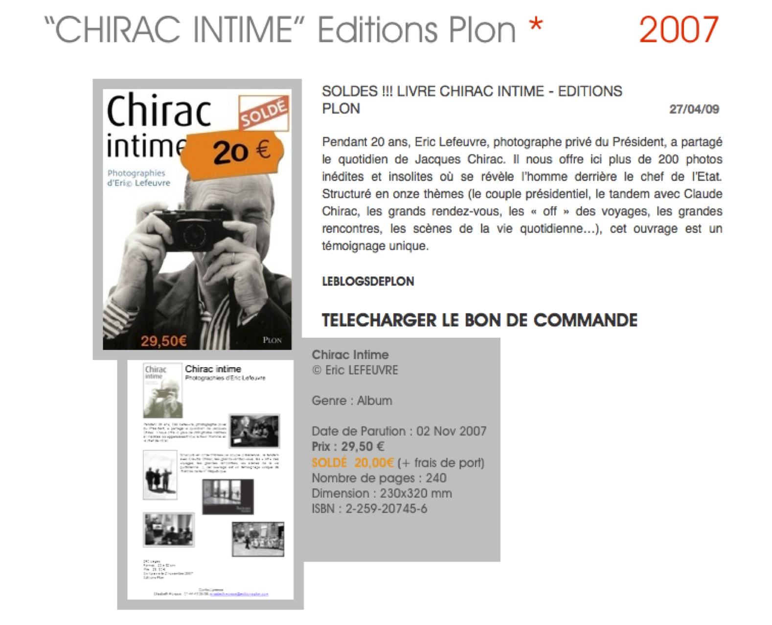 CHIRAC_INTIME_PAGE_SITE_E©L_CHIRAC_INTIME