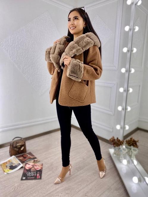 Fur Hood Winter Coat