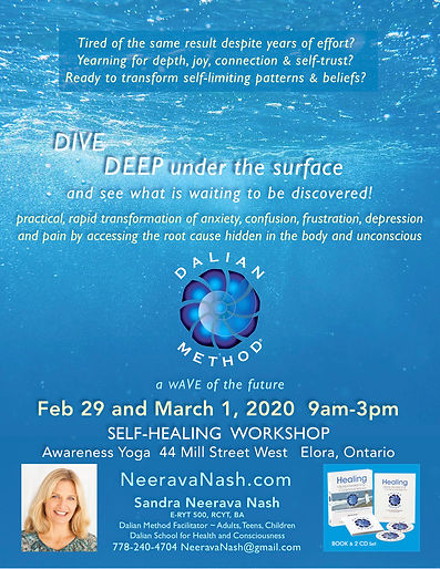 Dalian Workshop, Awareness Yoga Feb 29 2