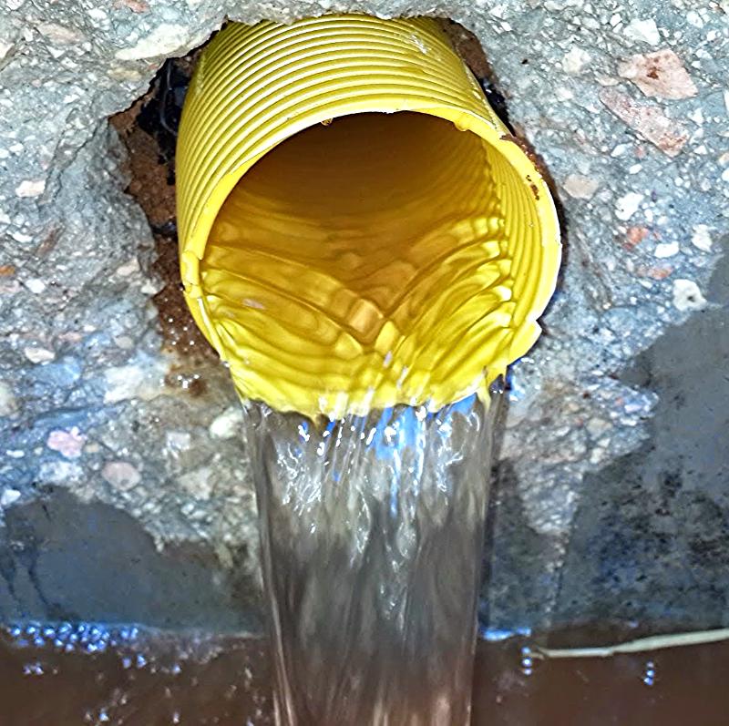 Hydroluis drenaj boru sistemi temiz