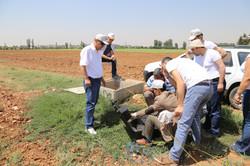 Arazi etüdü Şanlıurfa drenaj çalışamalrı