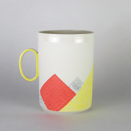 Maxi mug Rose/Jaune
