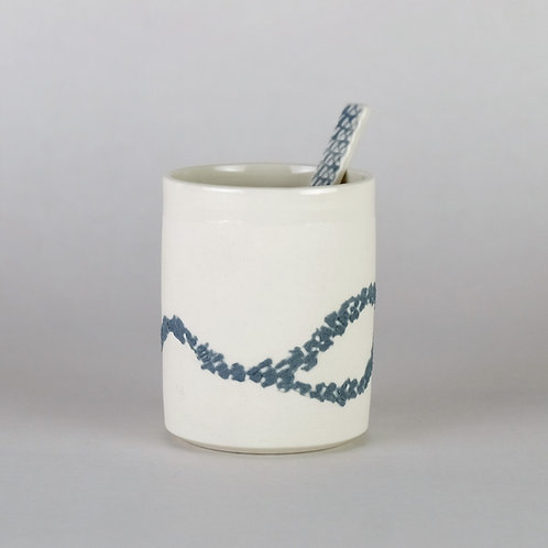 Tasse à café Gris