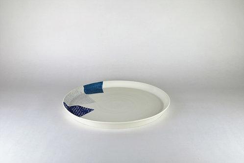 Grande assiette Cobalt/Bleu