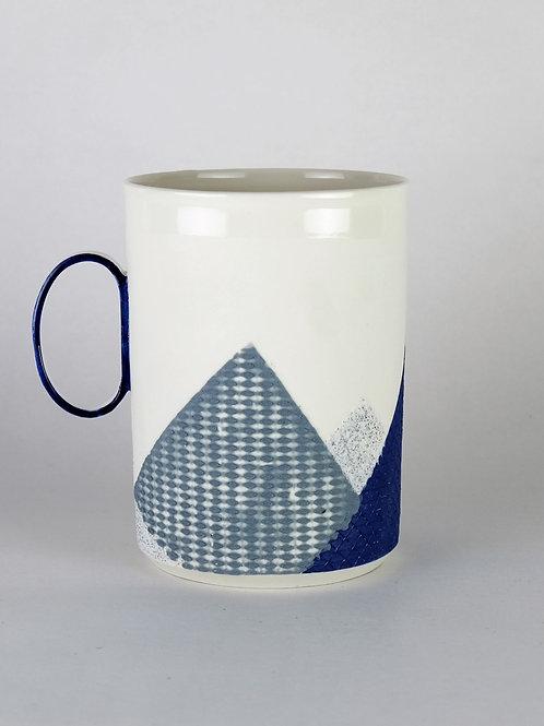 Maxi mug Cobalt/Gris