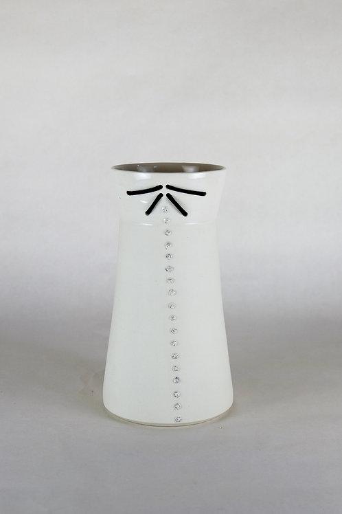 Vase Extension 2k Blanc pailletté