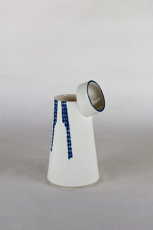 Carafon l'Observateur Bleu