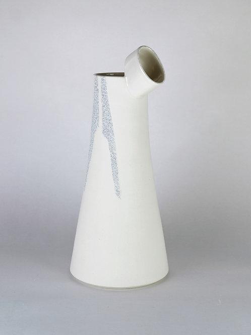 Carafe l'Observatrice Blanc pailleté