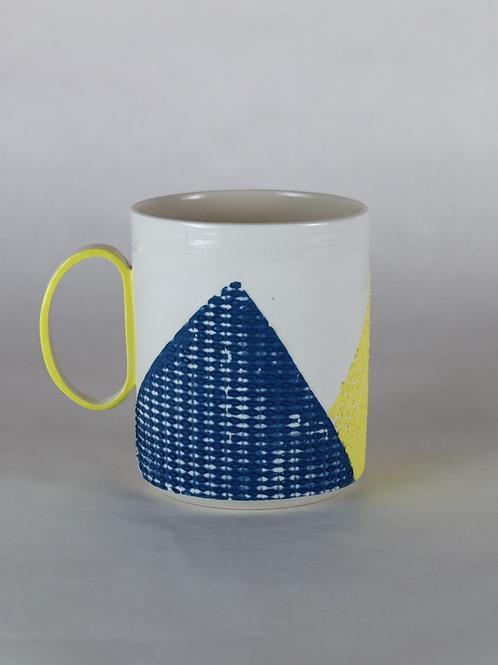 Mug Jaune/Bleu