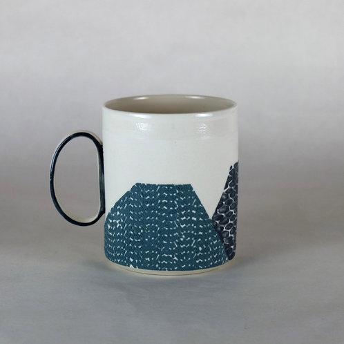 Mug Bleu-vert/Gris