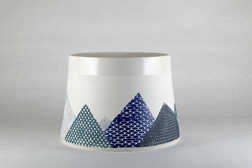 Saladier Cobalt/Gris/Bleu