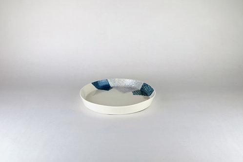 Petite assiette Bleu/Bleu-vert