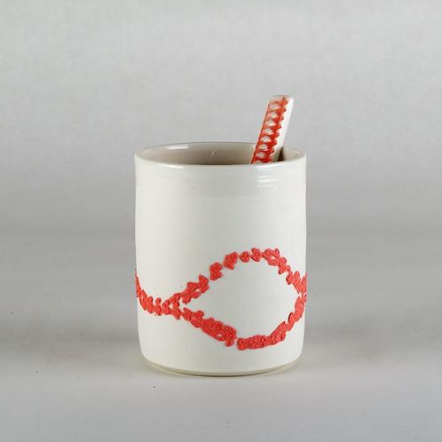 Tasse à café Rose