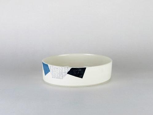 Coupelle Bleu/Noir