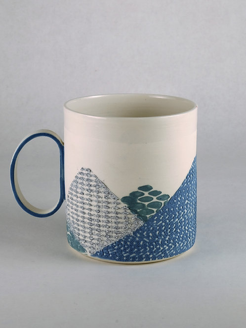 Mug Bleu/Bleu-vert