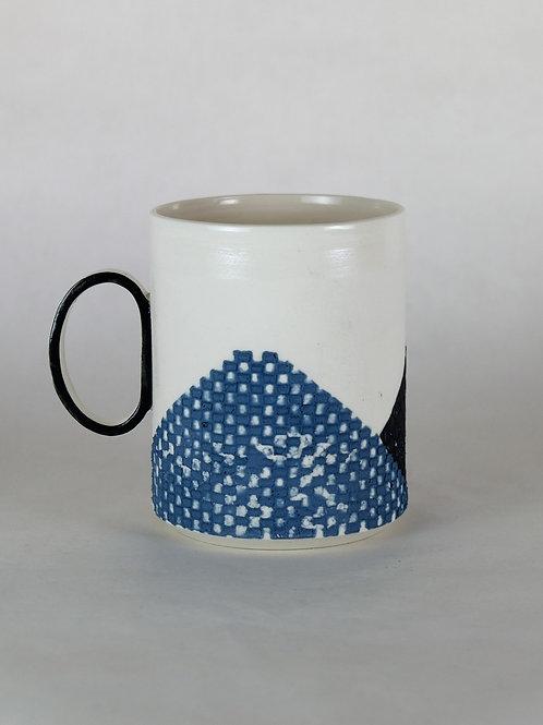 Mug Bleu/noir