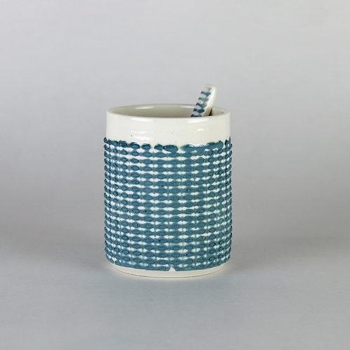Tasse à café Bleu-vert