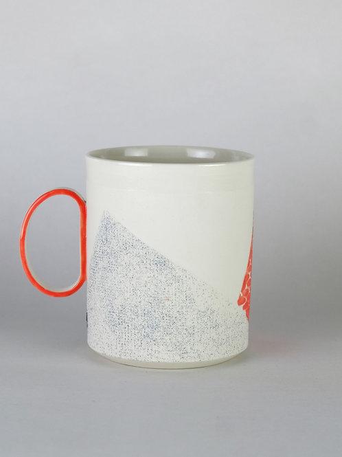 Mug Rose/Vert sapin