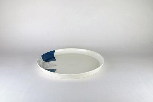 Grande assiette Bleu/Bleu-vert