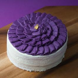 Purple Potato Parmesan Cheese Crepe