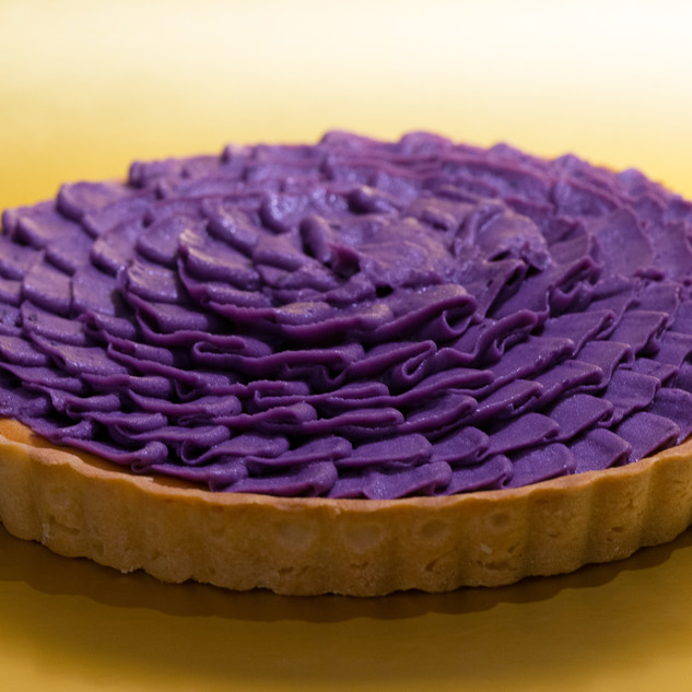 Purple Potato Tart